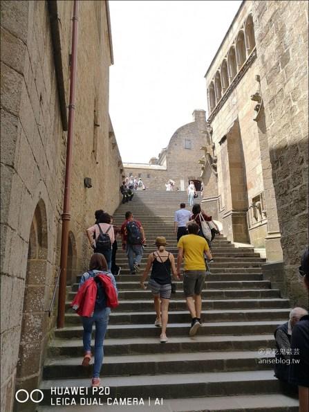 聖米歇爾山一日遊 | 天主教徒聖地,絕美山城,世界文化遺產