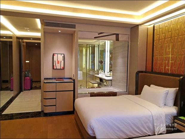 澳門住宿推薦 | 氹仔島的美獅美高梅酒店,開幕半年新穎氣派,大推!