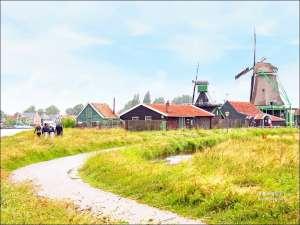 今日熱門文章:荷蘭風車村Zaanse(贊丹),狂風暴雨不怕不怕,起司照吃、熱巧克力照喝