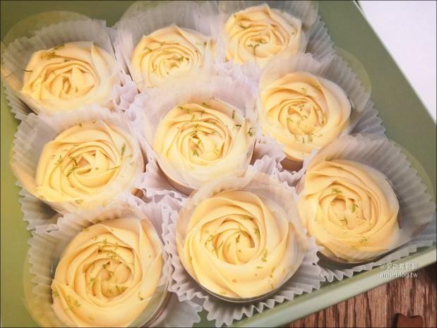 Cream Tea,等了5個月的團購玫瑰檸檬塔、司康與蝴蝶酥 @愛吃鬼芸芸