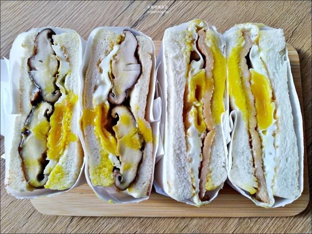 良粟商號,炭燒肉蛋吐司、厚切雞腿排,台北行天宮站美食(姊姊食記)