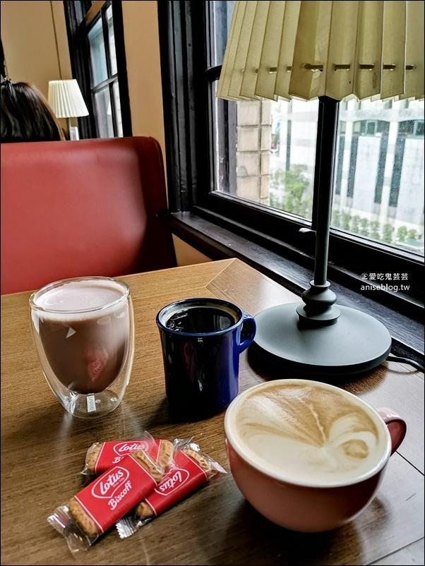中山堂4F劇場咖啡,台北古蹟咖啡館,西門站美食景點(姊姊食遊記)