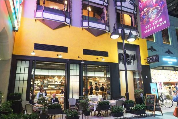 新濠影滙美食篇   米其林一星餐廳「玥龍軒」、義大利餐廳「Rossi Trattoria意滙」、「星滙餐廳」自助餐、亞洲料理「東南薈」