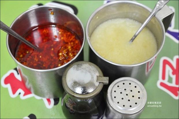 麥克麵線(黃家麵線羹),口感很特別的魚漿大腸麵線,基隆三沙灣美食小吃(姊姊食記)