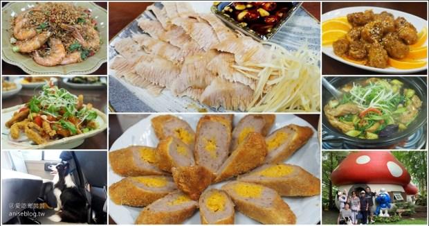 再訪阿姑的店,還是最愛松阪豬和炸芋頭捲