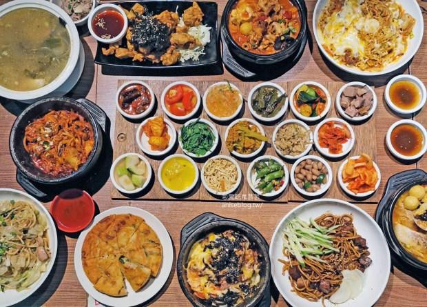 朝鮮味韓國料理,數十種小菜免費吃到飽,最愛炒泡麵、拌飯、海陸泡菜鍋! @愛吃鬼芸芸
