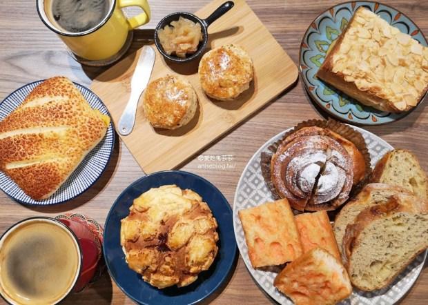 Rolling Eyes 麵包與咖啡 (翻白眼),網路評價超高的可愛麵包店 @愛吃鬼芸芸