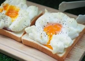 今日熱門文章:雲朵吐司,吃個美美的早午餐吧!