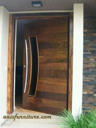 pintu jati laminating
