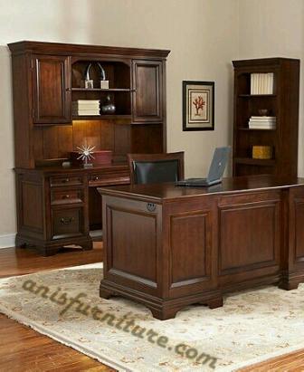 set meja kantor klasik
