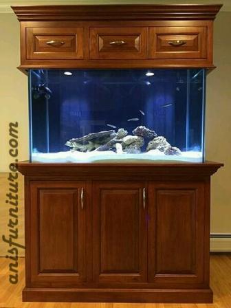 bufet aquarium jati jepara