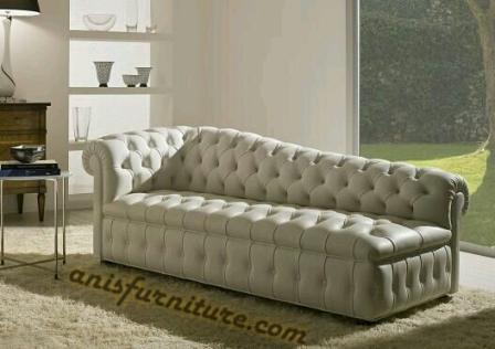 kursi sofa chester mewah