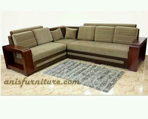kursi sudut jati sofa