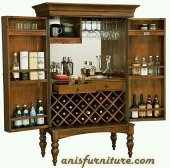 lemari bar dapur mewah