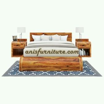 tempat tidur dipan trembesi