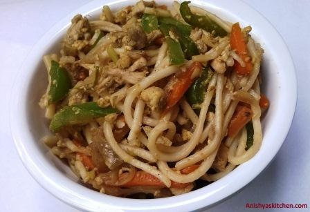 Indo Chinese Chow Mein