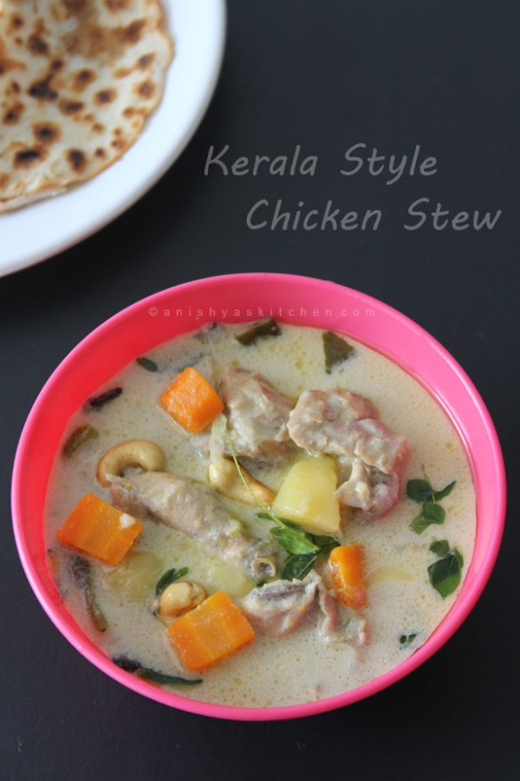 Kerala Style Chicken Stew - Chicken Curry with Coconut Milk - Kozhi Stew -Easter - Christmas Special