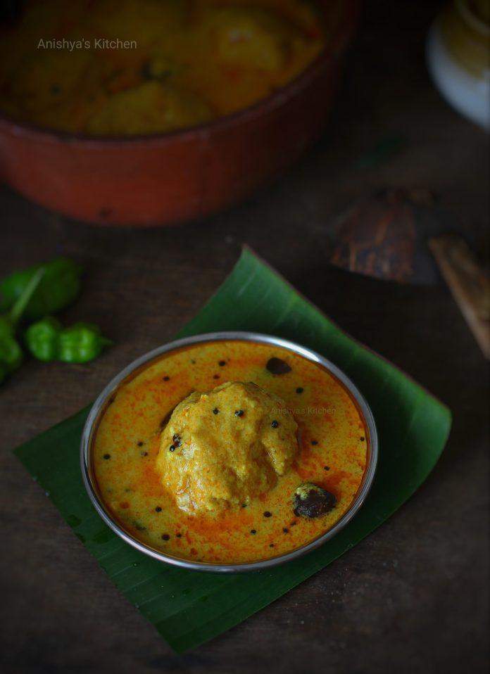 Mambazha Pulissery - Moru Curry - Mambazha Koottaan - Madhura Curry - Mambazha Kaalan