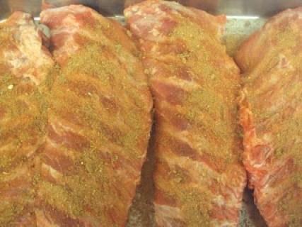 Pork Ribs with Rub