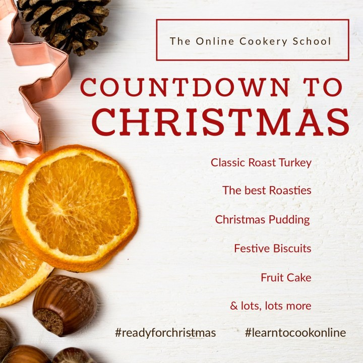 The Online Cookery School Christmas Design 2017