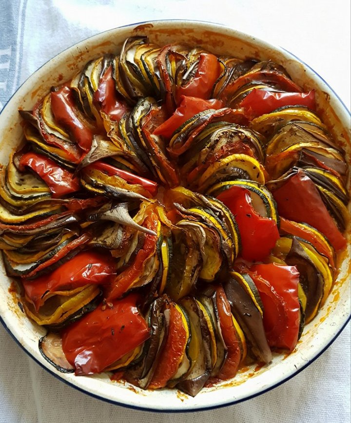 Confit Byaldi - a type of Ratatouille