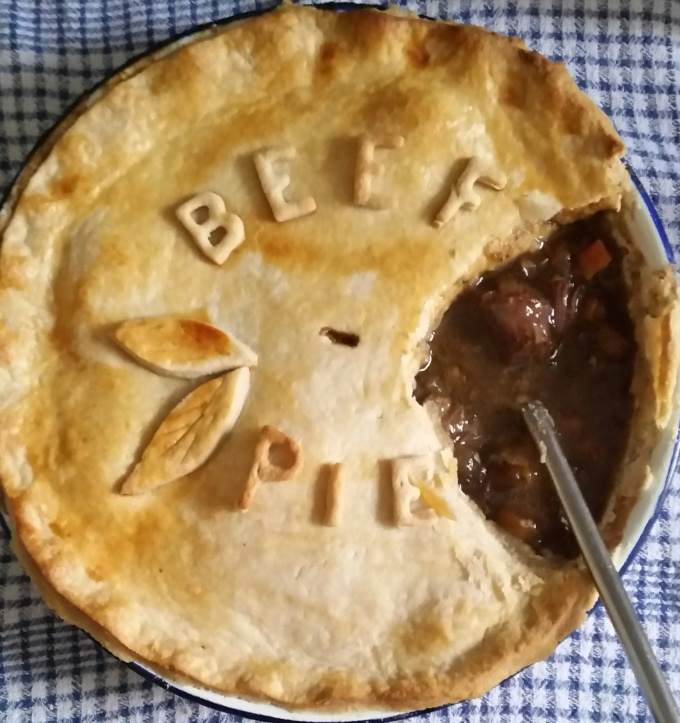 Braised Beef and Ale Pie