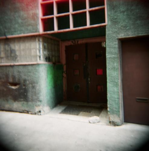 Wah Mee Club entrance