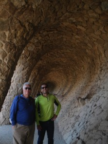 Guell Park- Ray and Rick
