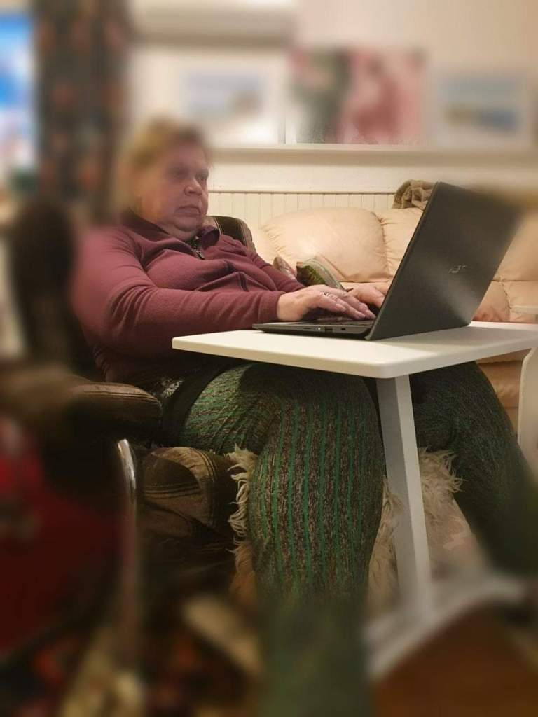 Laptopbordet