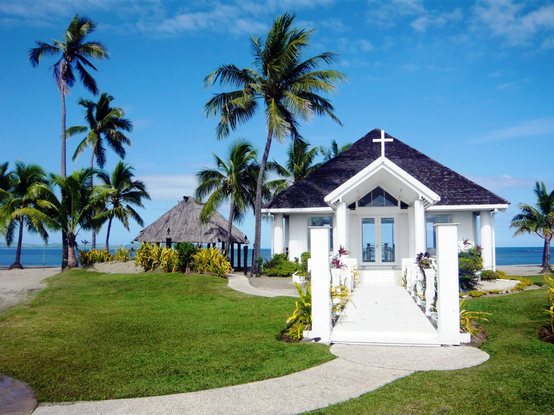Fiji wedding chapel