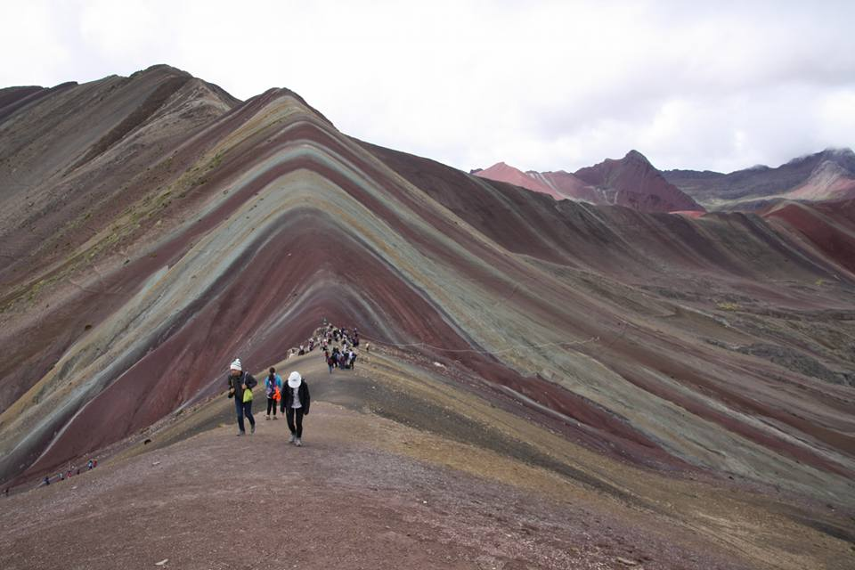 Rainbow mountain2 - Traveller's Tales | Justine's South American Journey