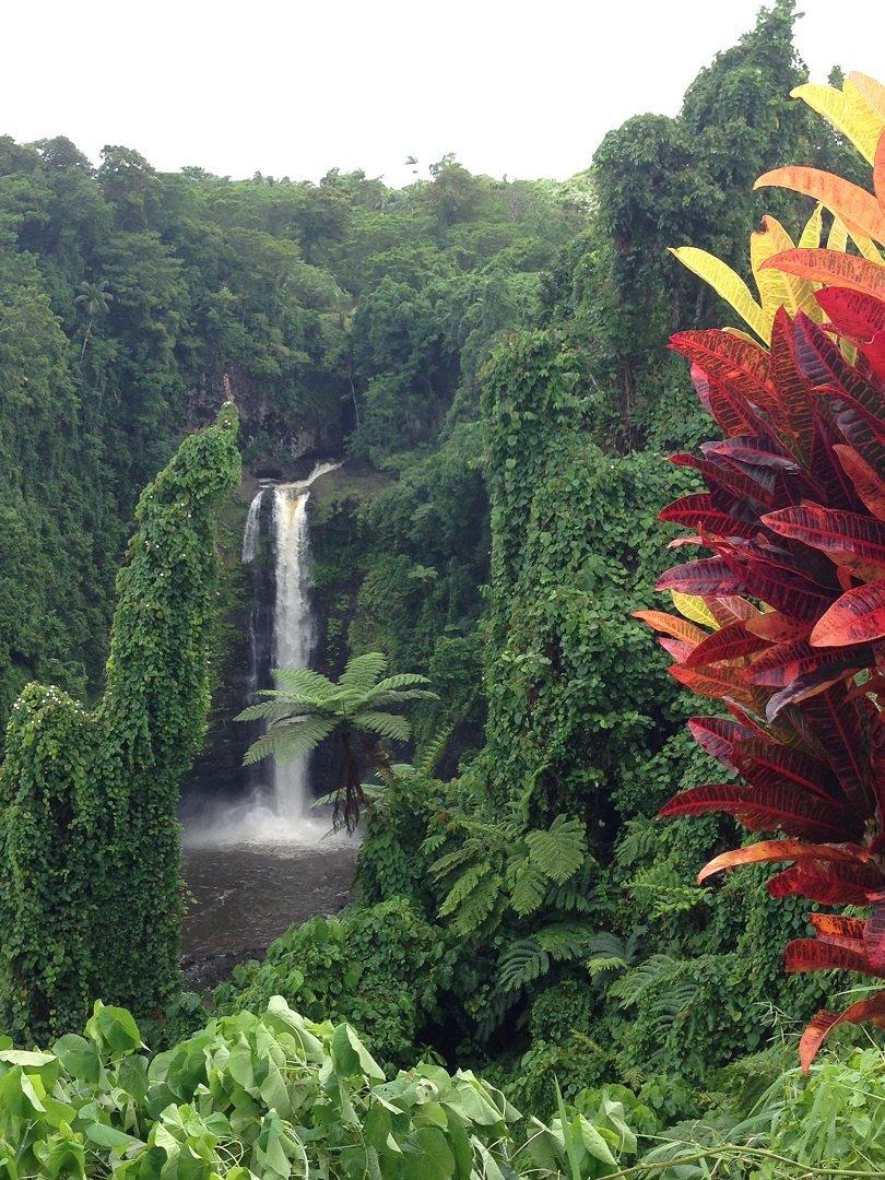 Samoa Waterfall 1080 - Traveller's Tales | Karla's Short-break in Samoa