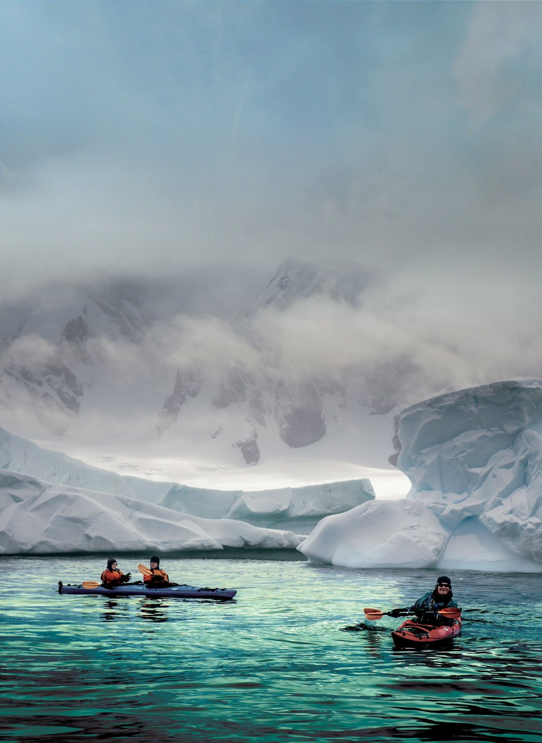 Page 1 Front Cover - Expedition Cruising Antarctica