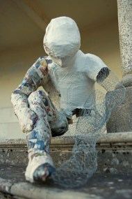 'We're work in progress' The Gathering series - life size adult figure