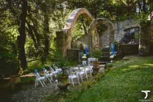 allestimento matrimonio a palazzo chigi ariccia