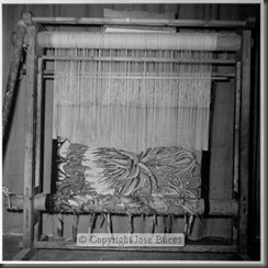 Tapestry Loom at the Royal Factory in Madrid