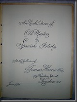 Exhibition of Spanish Masters at 29 Bruton Street - June 1931