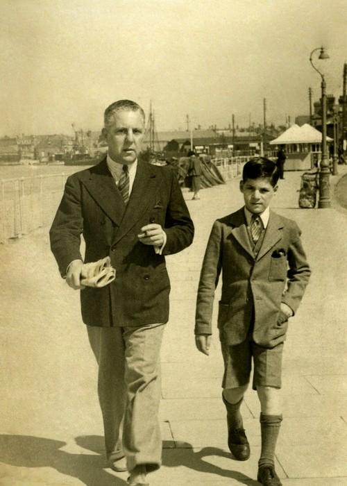 William Harris Jr and son Ronald Harris
