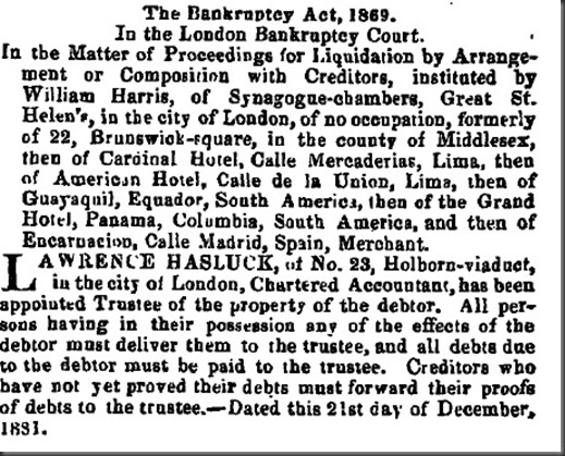 William Harris bankruptcy 1881jpg
