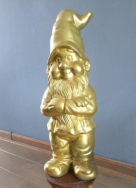 tuinkabouter-goud