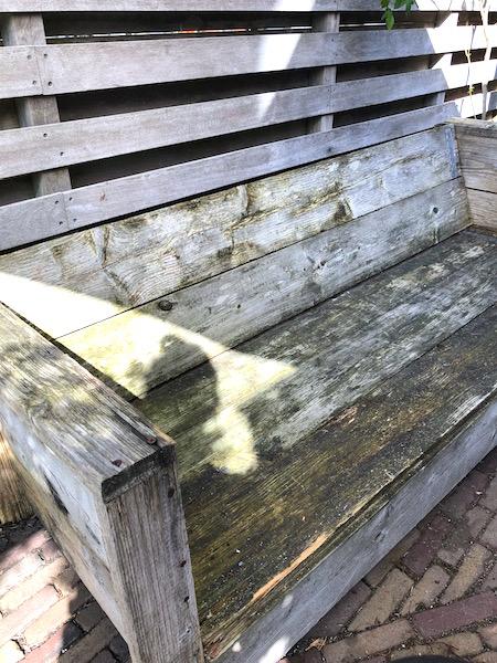 bank van steigerhout