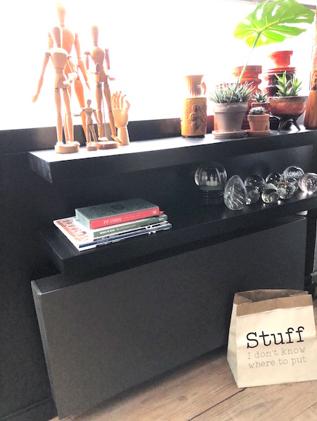 lelijke radiator werkkamer