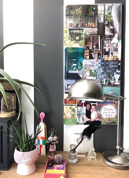 badkamer groen moodboard