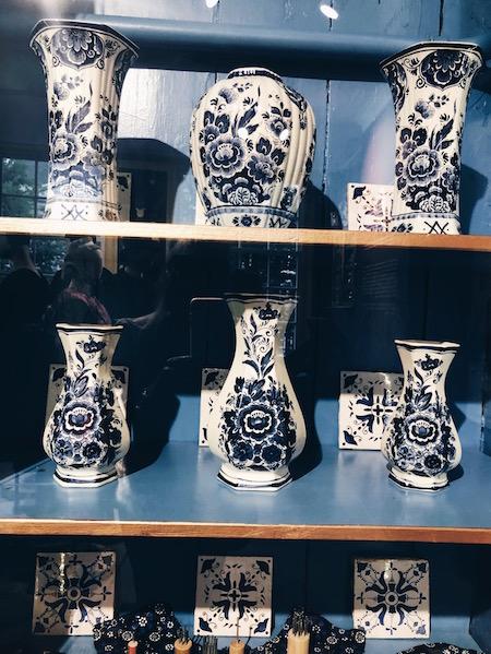 Delfts Blauw-Hollandse folklore