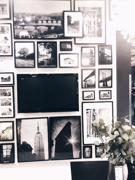 gallery wall Ikea