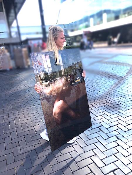 VT Wonenbeurs Sophie buiten