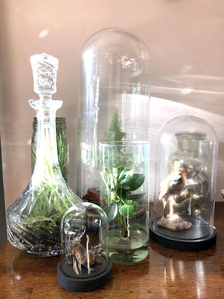 woonkamer- glaswerk