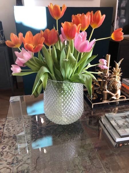 coffeetable tulpen
