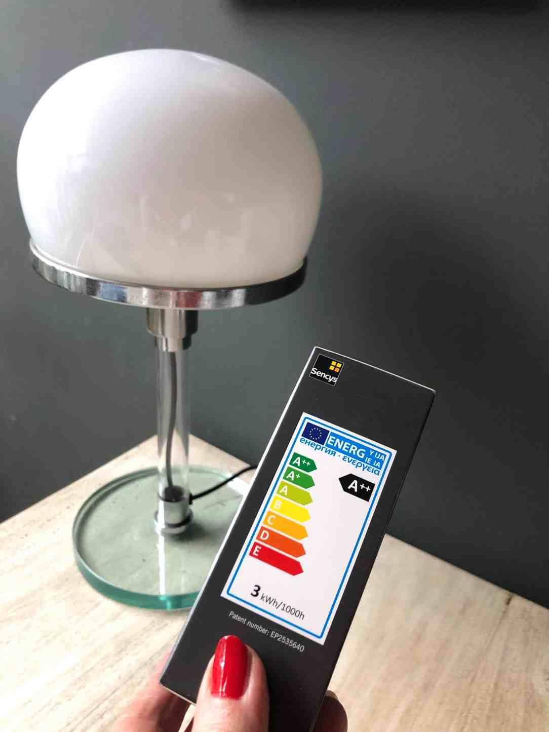 Milieuvriendelijk interieur-LED lamp