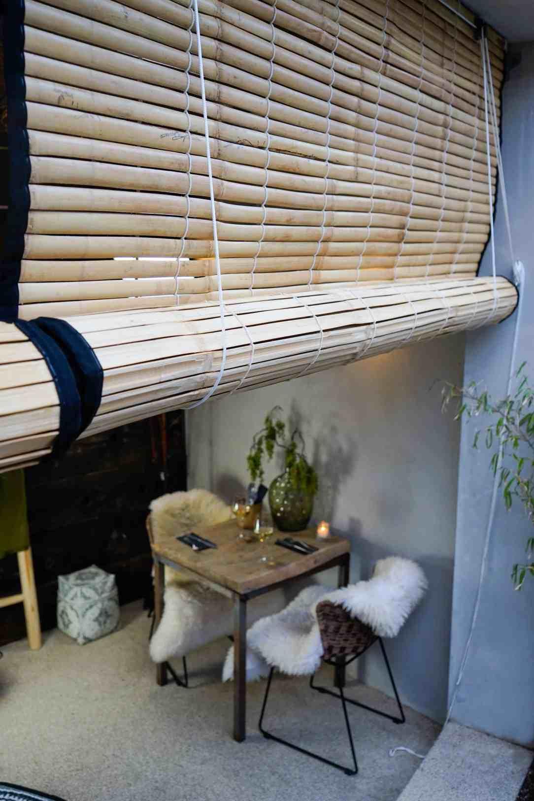 bambuta bamboe zonwering
